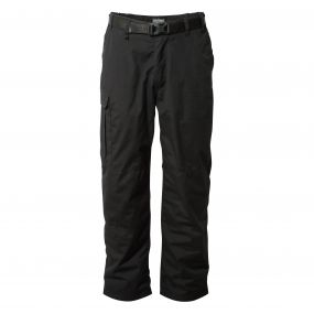 Kiwi Winter-Lined Trousers Black