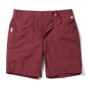Leon Swim Short Brick Red