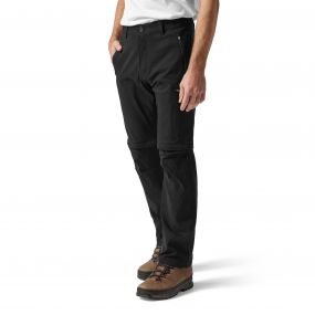 Kiwi Pro Convertible Trousers Black