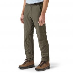 Trek Convertible Trousers Bark