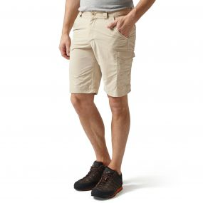 Insect Shield Cargo Shorts Desert Sand