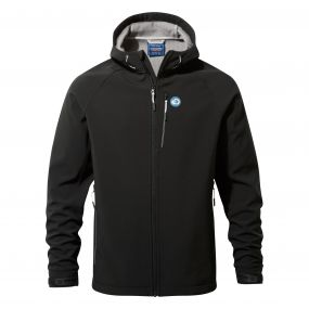 Discovery Adventures Hooded Windshield Jacket Black