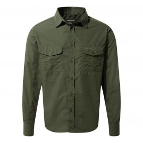 Kiwi Long-Sleeved Shirt Cedar