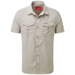 NosiLife Adventure Short-Sleeved Shirt Parchment