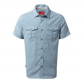 NosiLife Adventure Short-Sleeved Shirt Fogle Blue