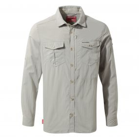 Insect Shield Adventure Long-Sleeved Shirt Parchment