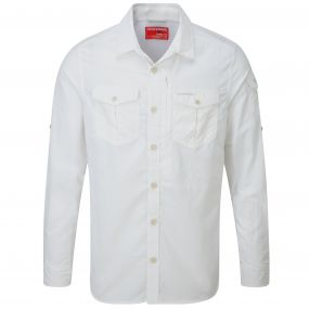 Insect Shield Adventure Long-Sleeved Shirt Optic White