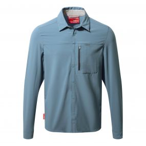 NosiLife Pro Long-Sleeved Shirt Smoke Blue