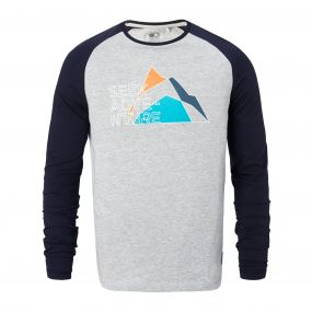 Discovery Adventures Long-Sleeved T-Shirt Quarry Grey Marl