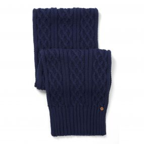 Dolan Knit Scarf Night Blue