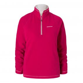 Seline Half-Zip Fleece Tropical Pink
