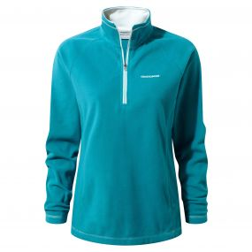 Seline Half-Zip Fleece Forest Teal