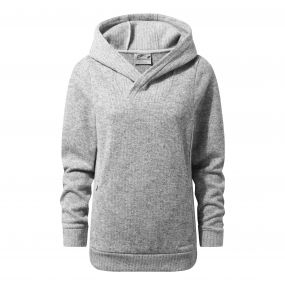 Craghoppers Callins Hooded Top Soft Grey Marl