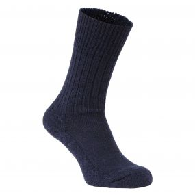 Womens Hiker Sock Dark Navy Marl