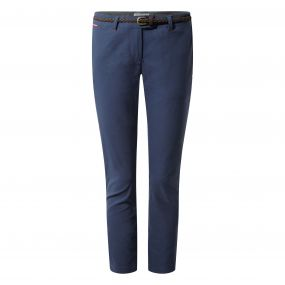 Insect Shield Fleurie Pants Soft Navy