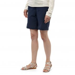 Insect Shield Fleurie Shorts Soft Navy