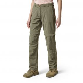 NosiLife Zip-Off Trousers Soft Moss