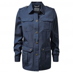 Craghoppers Ariah Shirt Jacket Ombre Blue