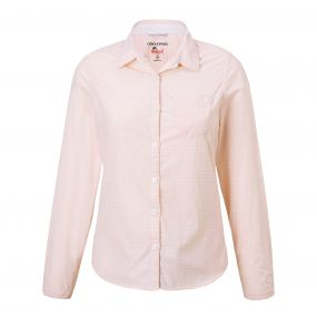 Craghoppers NosiLife Adoni Long Sleeved Shirt Blossom Pink