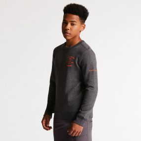 Strungout Sweater Charcoal Grey