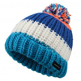 Dare 2B Kids Lineation Beanie Hat Oxford Blue