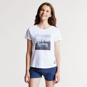 Cut Out Tee White