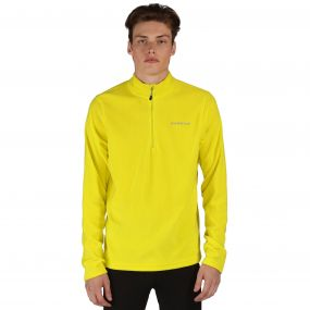 Men's Freeze Dry II Half Zip Fleece Neon Spring