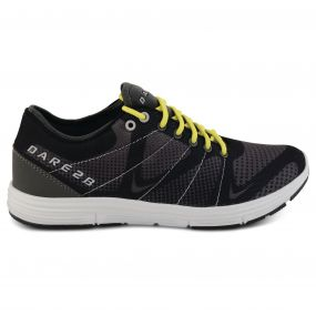 Dare 2B Men's Fuze Trainers Black/Cyberspace Grey