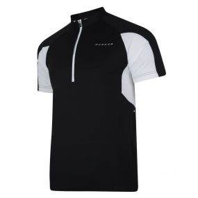Commove Cycle Jersey Black