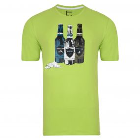 Bottle T-Shirt Lime Green