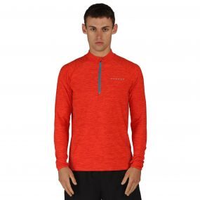 Dare 2B Men's Trivial Half Zip Multisport Jersey Trail Blaze