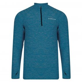 Dare 2B Men's Trivial Half Zip Multisport Jersey Titan Blue