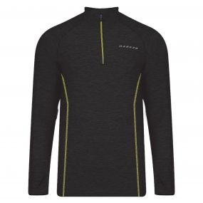 Dare 2B Men's Trivial Half Zip Multisport Jersey Black