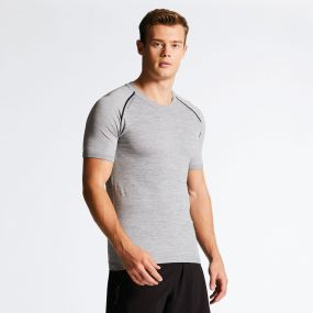 Dare 2B Men's Exhibit Technical T-Shirt Cyberspace Grey