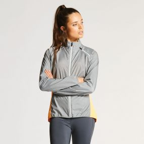 Dare 2B Women's Unveil II Windshell Jacket Mid Grey