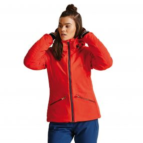 Women's Revival Ski Jacket HighRisk Red