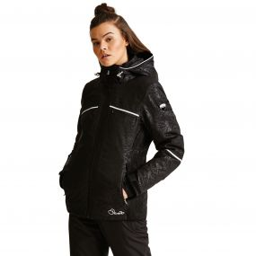 Women's Recast Ski Jacket Black