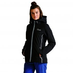Women's Plus Size Invoke II Ski Jacket Black