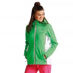 Women's Invoke II Ski Jacket Acid Green