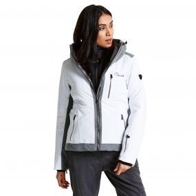 Women's Shadow Cast Black Label Ski Jacket White