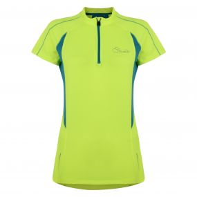 Dare 2B Configure Cycle Jersey Fluro Yellow