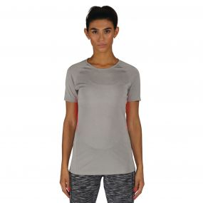 Dare 2B Women's Three Strikes T-Shirt  Ash GreyMarl