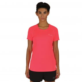 Dare 2B Women's Three Strikes T-Shirt  Neon Pink