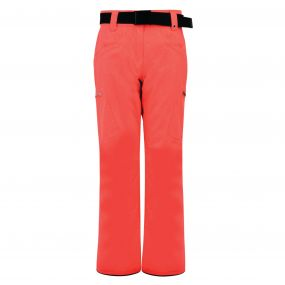 Dare 2B Women's Free Scope Ski Pants Fiery Coral Cire Print