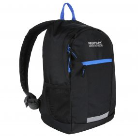 Kids Jaxon III 10L Rucksack Black French Blue