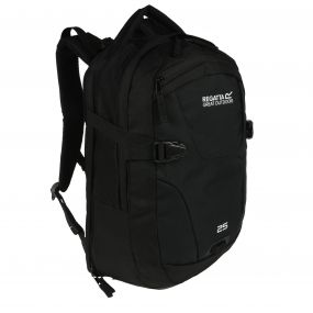 Paladen 25 Litre Laptop Backpack Rucksack Black