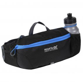 Quito Bottle Hip Pack Black French Blue
