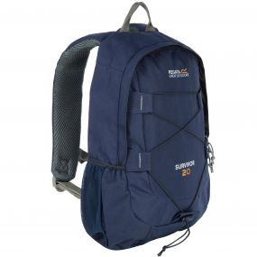 Survivor III 20 Litre Backpack Rucksack Navy