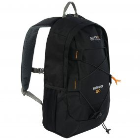 Survivor III 20 Litre Backpack Rucksack Black