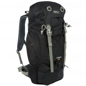 Survivor III 35 Litre Backpack Rucksack Black